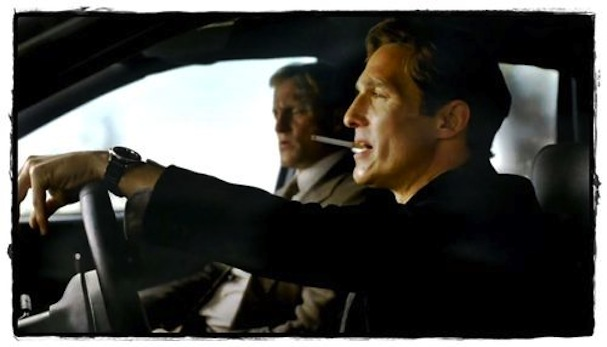 Matthew McConaughey drives True Detective
