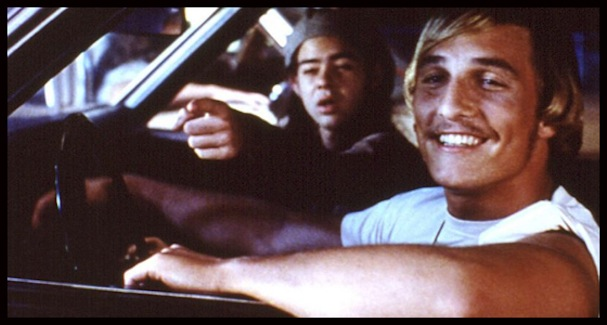 Matthew McConaughey Dazed and Confused car