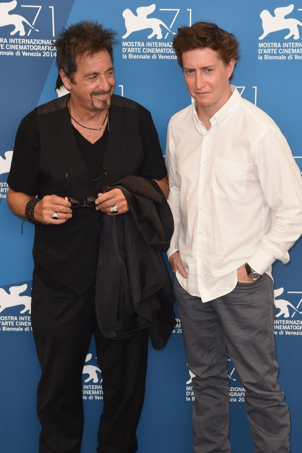 al pacino david gordon green venice 2014 607