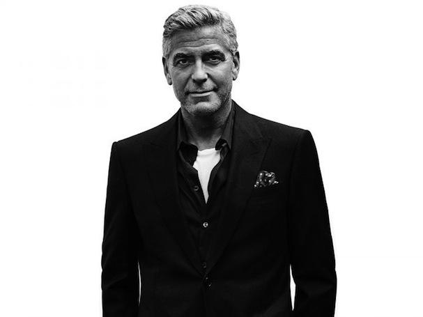 George Clooney portrait 607