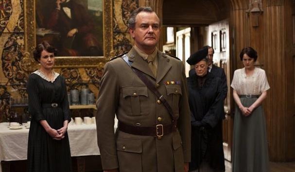 Hugh Bonneville & Michelle Dockery Downton Abbey