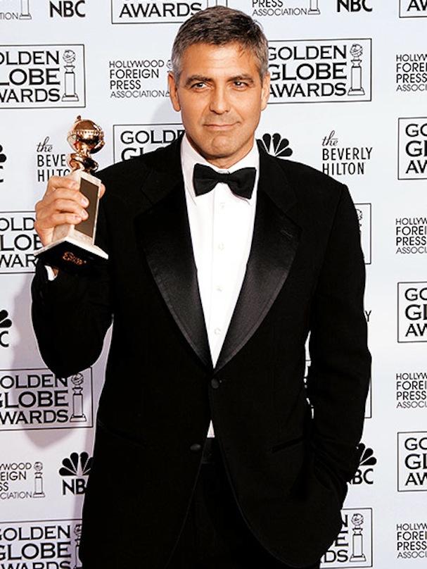 George Clooney Golden Globe Syriana