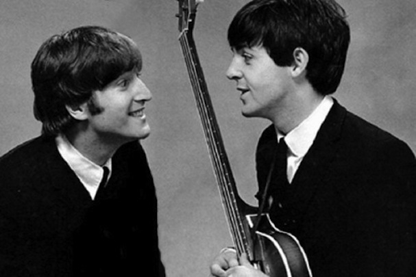 John & Paul the Beatles