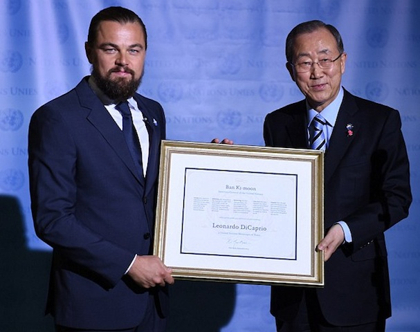 Leonardo DiCaprio Messenger of Peace2 607