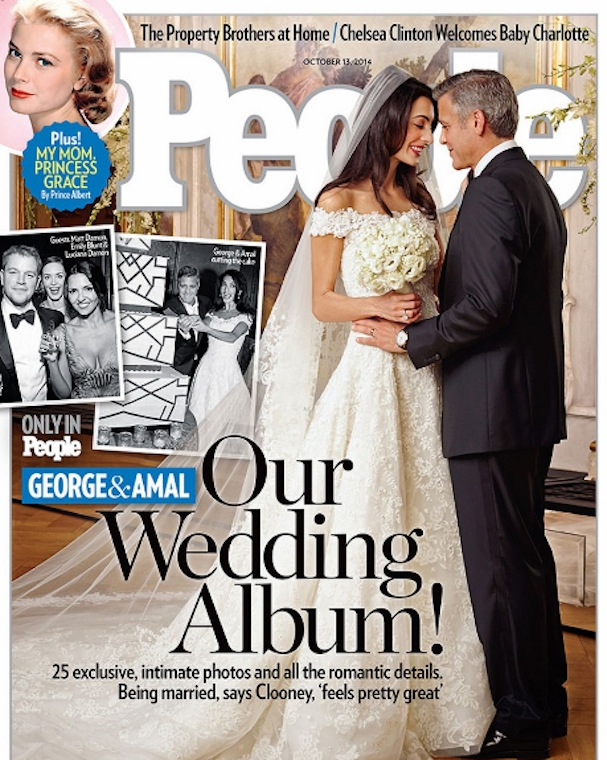 clooney wedding People magazine