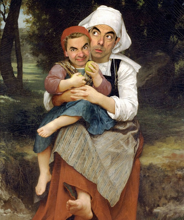 Mr. Bean painting10