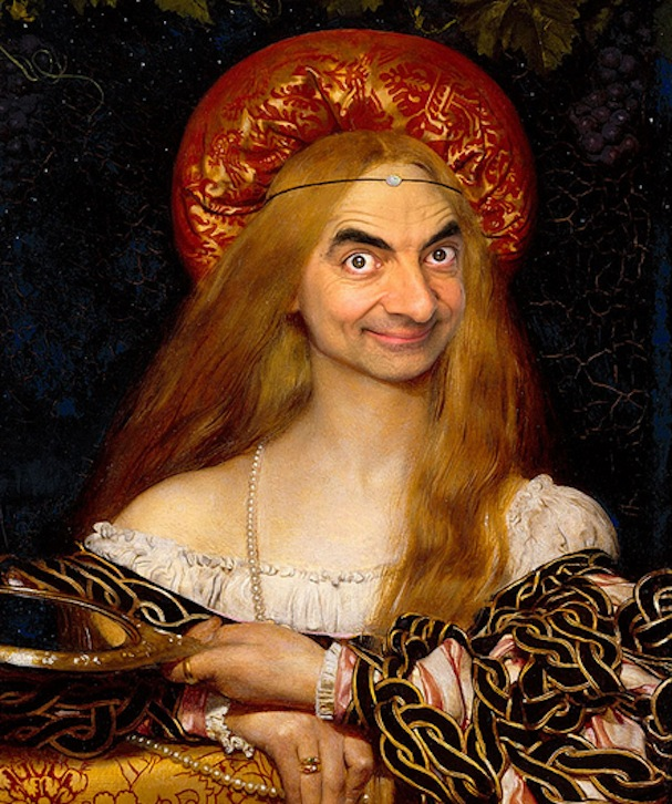 Mr. Bean painting4