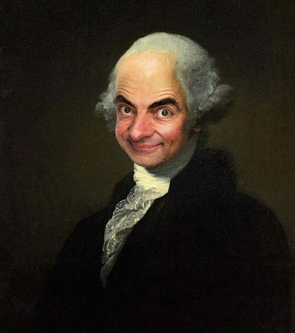 Mr. Bean painting6