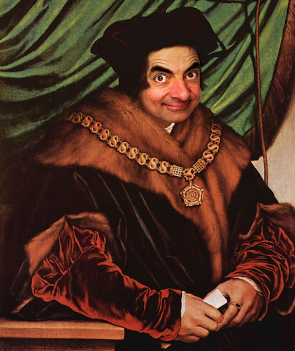 Mr. Bean painting5