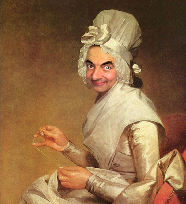 Mr. Bean painting7