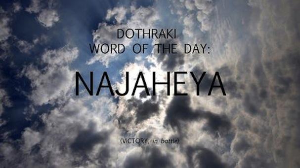 dothraki word of the day