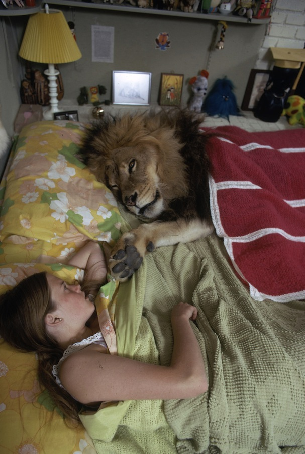 melanie grifith & lion5