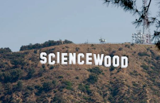 sciencewood sign