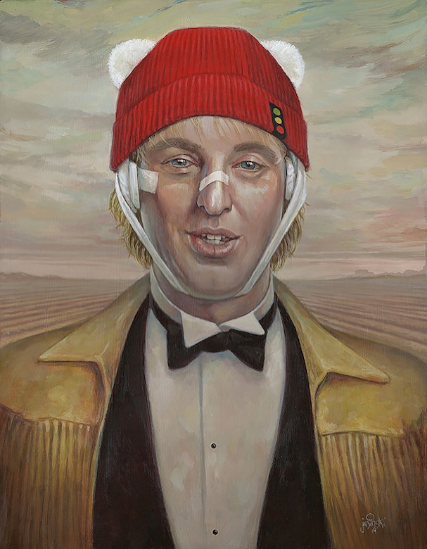art show tribute to wes anderson 1