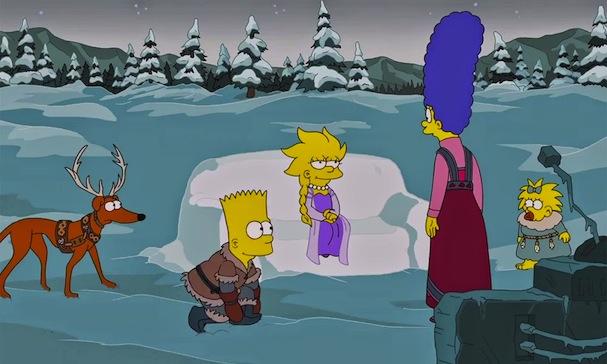 Simpsons Xmas Frozen 607