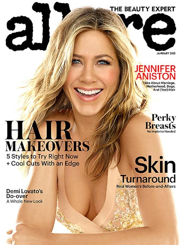 Jennifer Aniston Allure cover 607