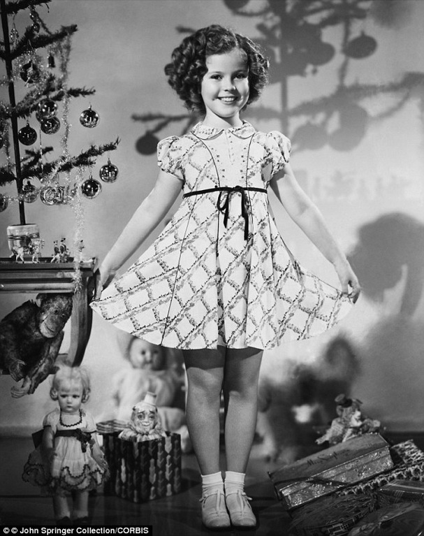 Christmas Shirley Temple 607
