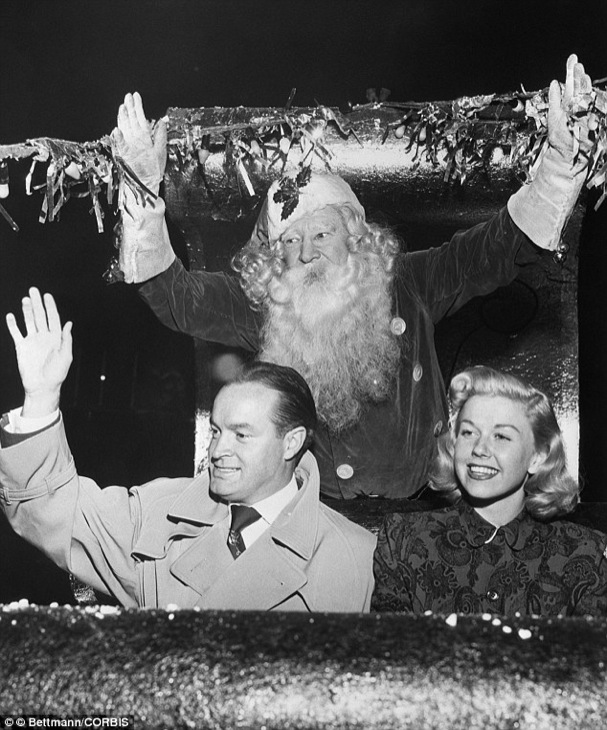 Christmas Bob Hope Doris Day 607