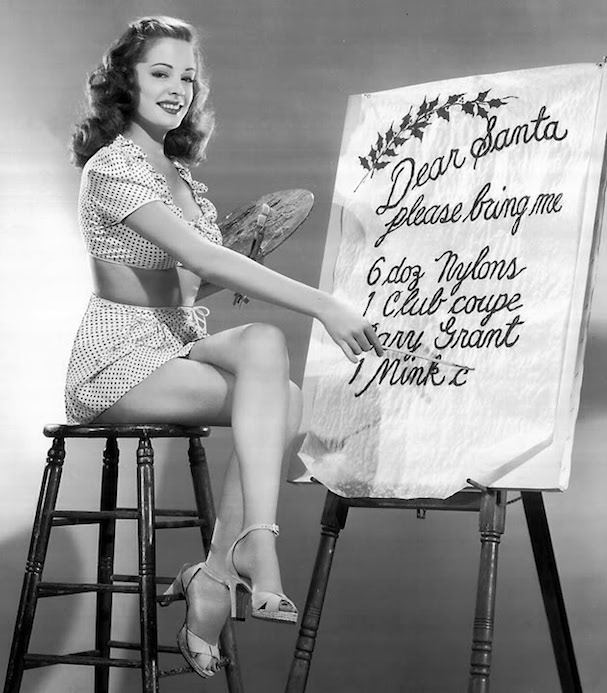Christmas Jane Greer 607