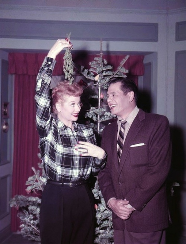 Christmas Lucille Ball 607