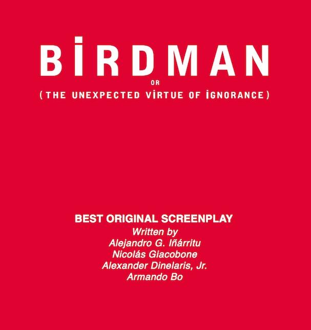 Birdman Script 607