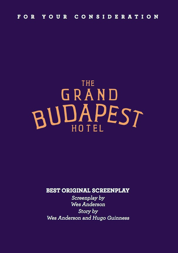 The Grand Budapest Hotel Script 607