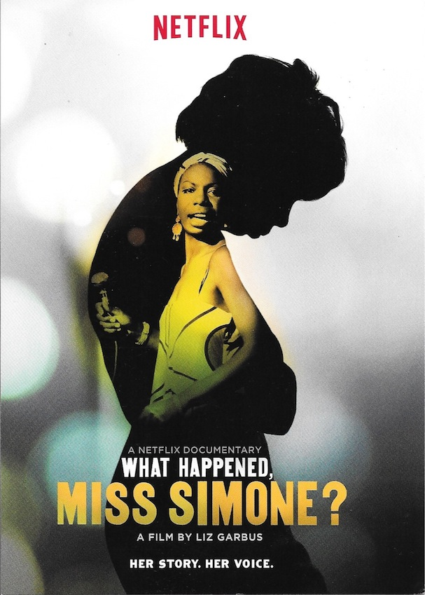 what happened miss simone poster