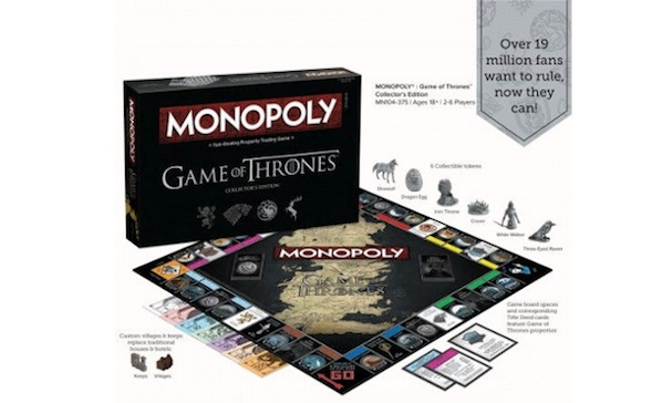 GAME OF THRONES MONOPOLY 607 2