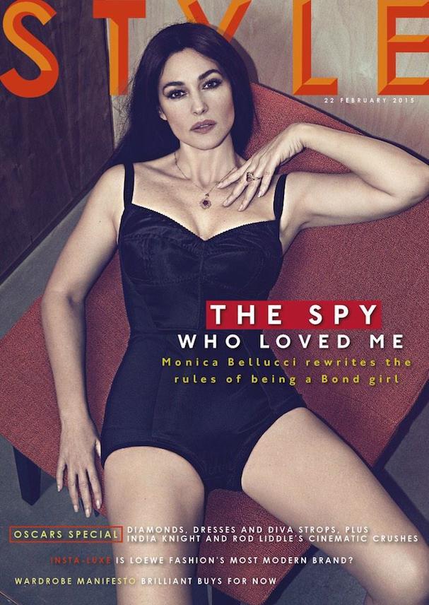 Monica Bellucci Style Magazine Cover 607