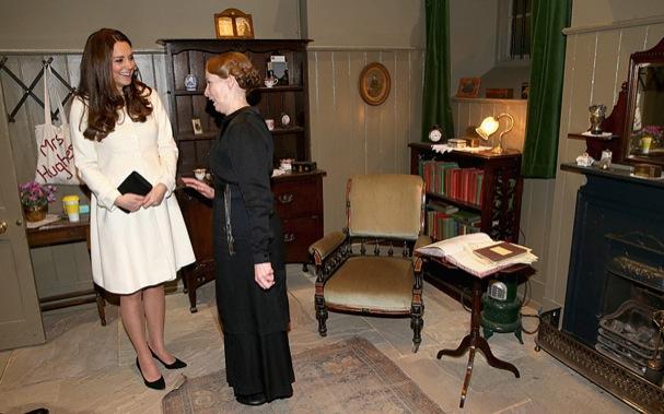Kate Middleton Downton Abbey 607