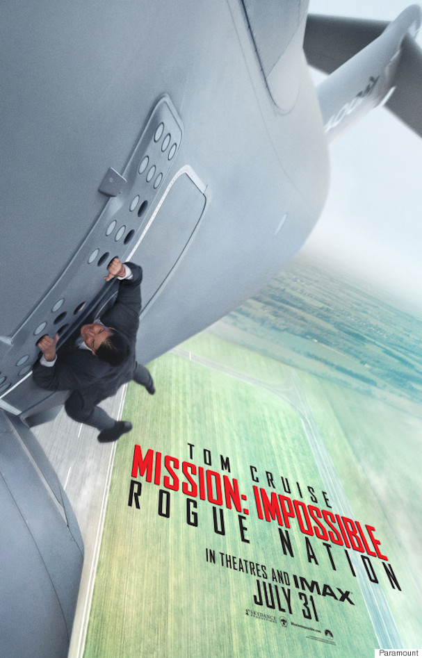 mission impossible 5 poster 607