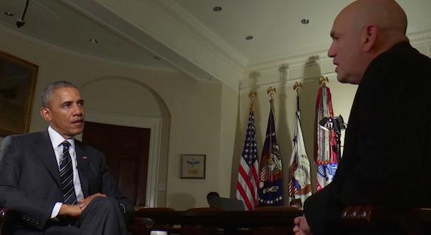Barack Obama David Simon 2