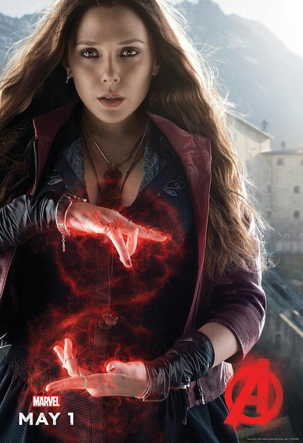 Scarlet Witch Poster Avengers 2 607