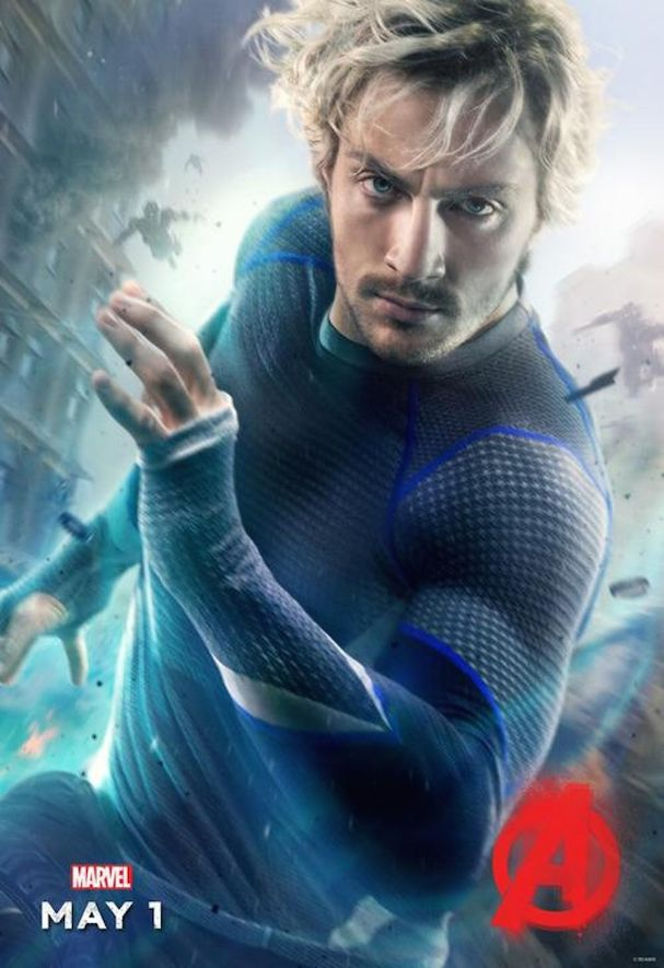Quicksilver Avengers 2 Poster 607