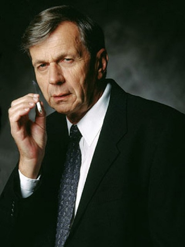 X-Files Cigarette-Smoking Man 607