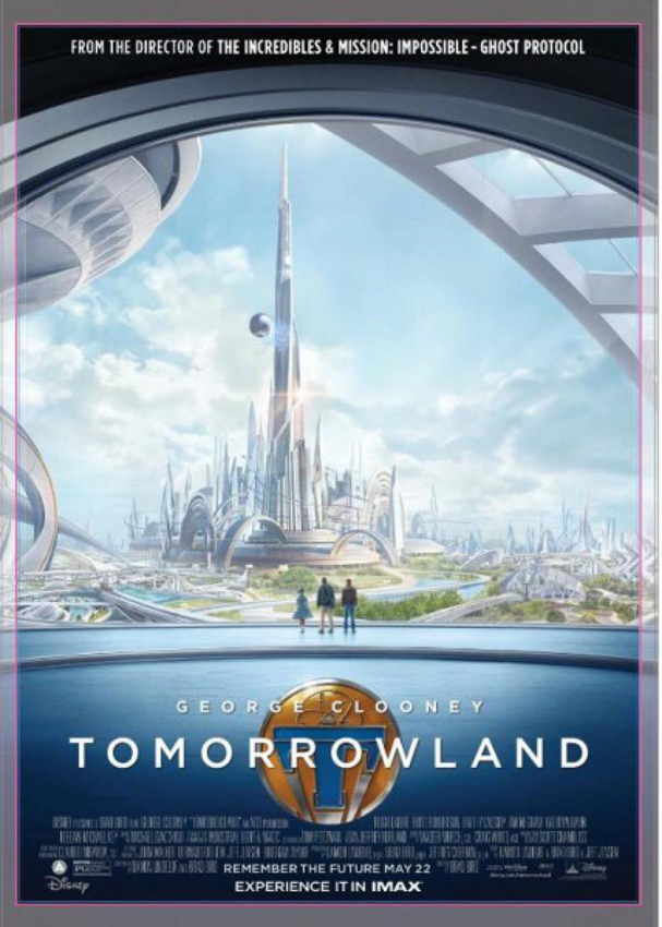 tomorrowland poster 607