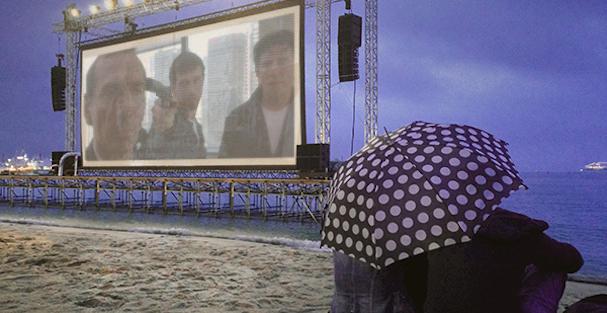 Cinema de la Plage Cannes 2015