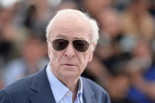Michael Caine Cannes 2015