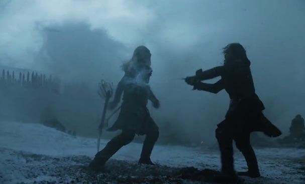 jon snow game of thrones shooting 607
