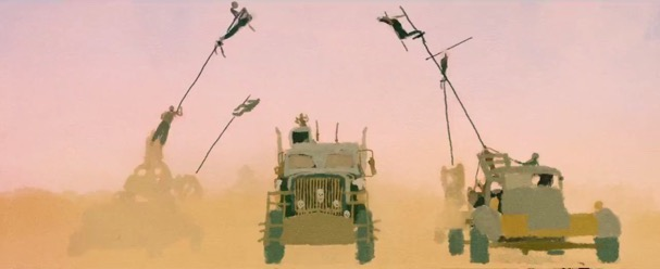 Mad Max fury road animated 607