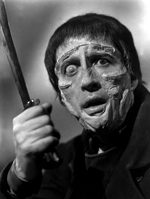 christopher lee  The Curse of Frankenstein 607