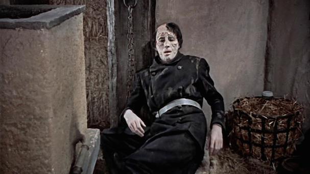 The Curse of Frankenstein 607