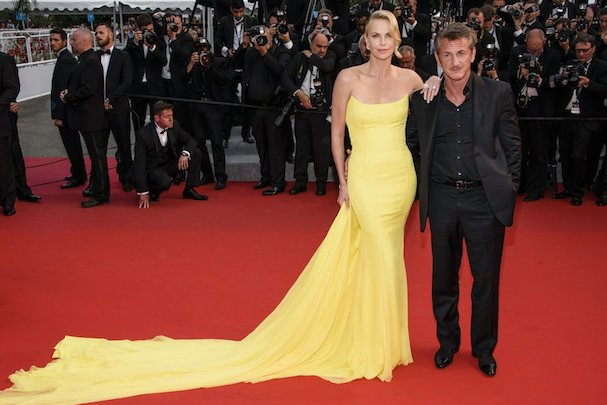 Charlize Theron Sean Penn Cannes 2015