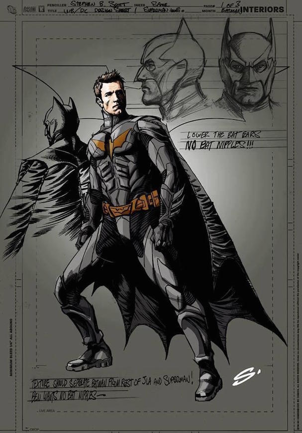 Ben Affleck Batman art 607