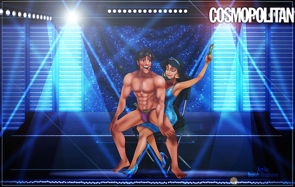 Disney Princes As 'Magic Mike' Strippers 607 5