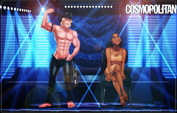 Disney Princes As 'Magic Mike' Strippers 607 6