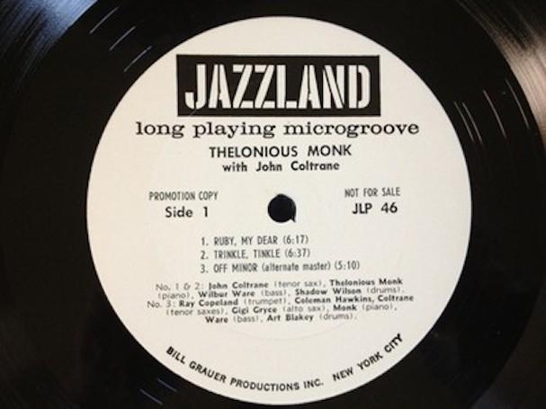 Thelonious Monk Record