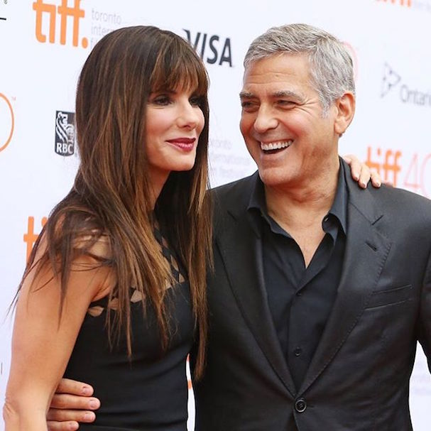 Sandra Bullock George Clooney 607 1