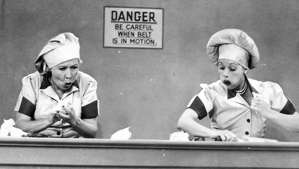 I Love Lucy 607