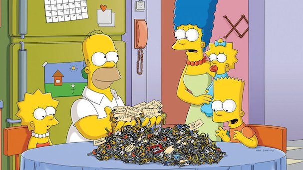 The Simpsons 607